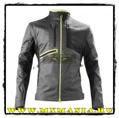 Acerbis Enduró kabát, Fekete-Fluo sárga színben