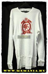 Asterisk hosszú ujjú póló, fehér