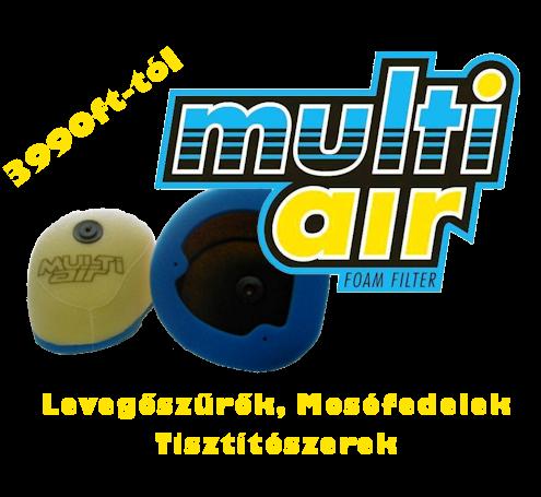 MultiAir levegőszűrők már 3.990.-tól!!!
